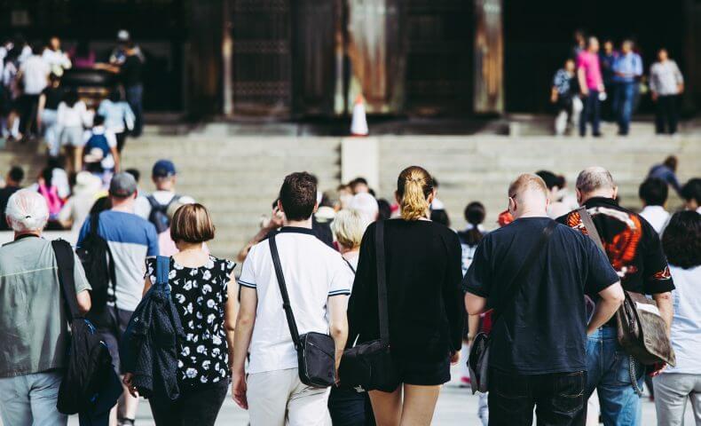 訪日外国人増加