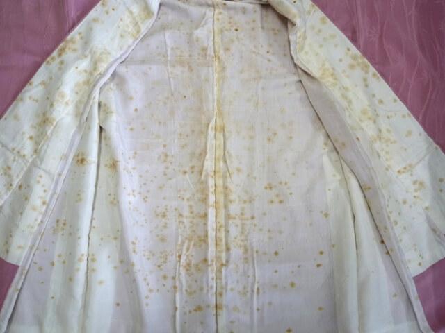 着物のシミ