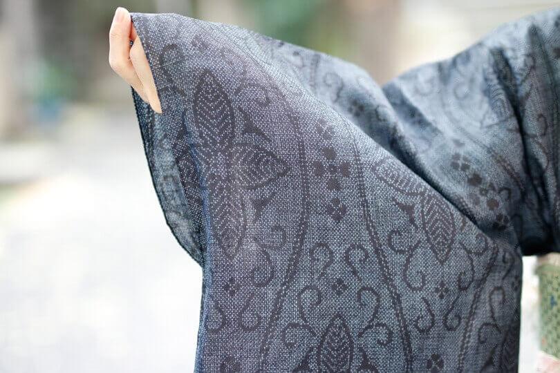 宮古上布の浴衣