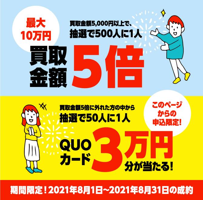 バイセル着物買取8月のキャンペーン