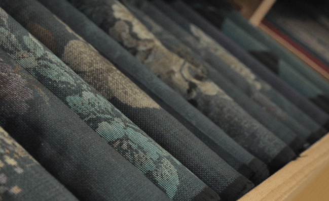 大島紬の反物